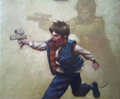 [Children's Star Wars Imagination] solo by Craig Davison Star Wars Poster, Star Wars Art, Star Trek, Starwars, Fantasy Anime, Stormtrooper, Superhero Kids, Star Wars Concept Art, Fantasy Paintings