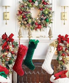 Add color to your holiday decor while nicely presenting your gifts in a classic holiday stocking. It features a subtle quilted pattern for extra depth and texture.