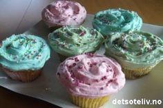 detsoteliv.no: Magnolia Vanilla cupcakes (norwegian recipe)