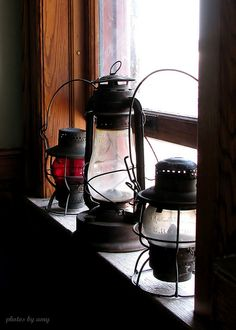 I love decorating. Especially with an old lantern (: They are the perfect rustic touch for any home.