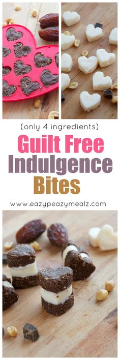 My favorite way to snack without the guilt. These are like mini ice cream sandwiches but without all the sugar and fat. Seriously tasty and only take 4 ingredients to make. You will want to try these! - Eazy Peazy Mealz