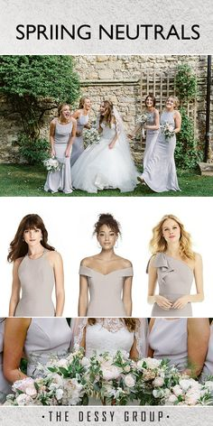 837fca5041 Romantic and Elegant bridesmaids styles from Dessy Group. Style 2987 ...
