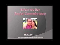 http://earnfreedomonline.net/ipdn    SCAM ALERT: Social Commissions by Adrian Morrison - DON'T BUY Social Commissions! [EXPOSED]    Social Commissions by Adrian Morrison is yet another Internet marketing product that claims to make you a millionaire. Thats right you to can become a millionaire if you buy this product and learn the ways of Adrian Mor...