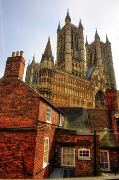 Lincoln Cathedral - Lincoln, England