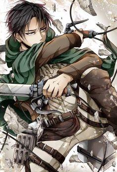 L'attaque des titans - Levi