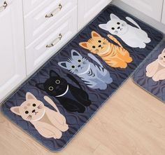 Cat Floor Mat