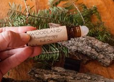 Natural Aromatherapy Roll-on •WOODLAND• - 1/3 oz amber bottle // Perfume / Fragrance Oil // Pine + Cedarwood from ORIGINAL ORGANICS herbals on Etsy -- Perfect for men or women  #etsy #handmade #aromatherapy #herbal #herbs #originalorganicsherbals #organic #natural #rollon #perfume #cologne #naturalperfume #fragrance #fragranceoil #essentialoil #oilblend #woodland #woodsy #pine #cedarwood #eo #scent #rustic #healthy #shopsmall #forhim #forher #style #aroma #beauty #nature