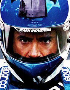 """Tony Stark -- """"Iron Man 2"""" (Monaco Formula One race)"""