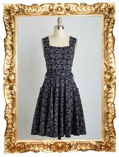 Guest of Honor Dress in Bicycles - $94.99