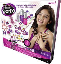 CraZArt Shimmer N Sparkle 3D Candy Nails -- You can get additional details at the image link.