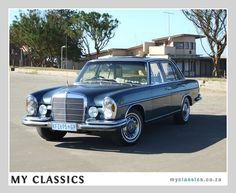 MY NEW FOUND HOPEFUL~ 1973 Mercedes-Benz W108 280se classic car