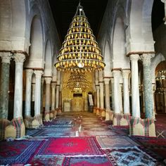 Cómo son los tunecinos. 14 cosas que (a lo mejor) no conocías de ellos. La mezquita de Kairouan.