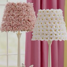 it's a fower lamp diy, you have to try it..