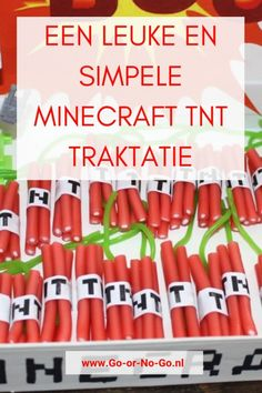 How to: A super fun and simple Minecraft TNT treat - How to: A super fun and simple Minecraft TNT treat - Tnt Minecraft, Minecraft Crafts, Minecraft Printable, James Bond, Valentine Box, Themed Cakes, About Me Blog, Alcohol, Simple