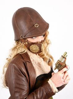 Every good steampunk anthropologist needs one.