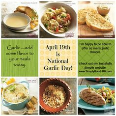 National Garlic Day - April 19