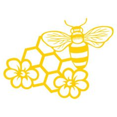 Silhouette Design Store: honey bee garden