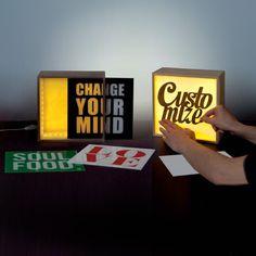 Luminaires personnalisables par Seletti, imaginez votre décoration au gré de vos envies !