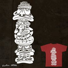 TOTEM CRAZY on Threadless