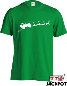 4x4 Jeep Ugly Christmas Sweater T Shirt Truck Shirt Gifts For Truck Lover Xmas Gifts For Christmas Holiday Season Mens Tee MD-302