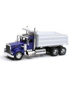 Kenworth W900 Utility Dump Truck Toy #zulily #zulilyfinds