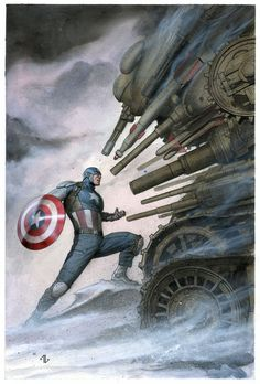 Captain America: Living Legend by Adi Granov