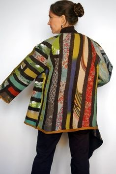 Jackets - Felt - Textile - Fashion - Art