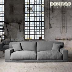 Contemporary modular 4 seater sofa Doyle by Domingo Salotti