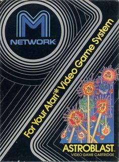 Video Game Nation (cover) Astroblast, Atari 2600, M Network, 1982