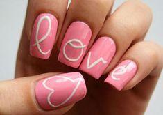 heart nail art - 70+ Heart Nail Designs  <3 !