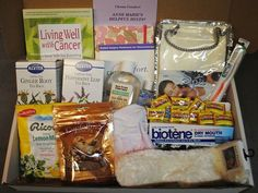 #BreastCancer survivor Robin Roberts says this kit assisted her in getting through chemo. Includes teas and crystallized ginger for nausea, special toothpaste, mouthwash, and warm socks. Thank you for sharing @mspacmanpink