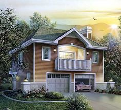 Architecture two storey house designs and floor for Ultimate garage plans