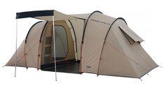 High Peak Tauris 4 - Tente familiale - beige/marron