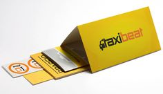 TAXIBEAT // START-UP KIT by Kanella, via Behance