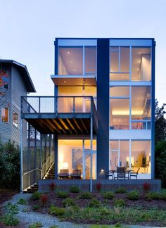 Stair House in Seattle, Washington by David Coleman Architecture via @HomeDSGN
