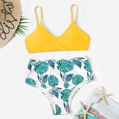b2ca9c8effcc4 Shein Plus Random Flower Print Flounce One Piece Swimsuit in 2019 |  Products | One Piece Swimsuit, Swimsuits, Swimwear