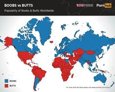 Boobs vs butts