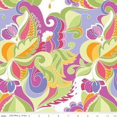 Lila Tueller - Extravaganza - Floral in Multi