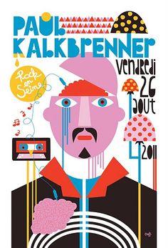 Paul Kalkbrenner, Rock en Seine Festival poster