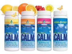 Natural Calm for magnesium deficiency..also Epsom salt foot baths