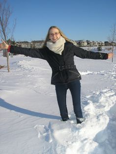 "Flavia (High School Year, Kanada): ""I had a great time in Canada and would recommend to everyone to experience a different family life and school system like that."""