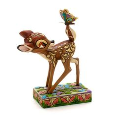Bambi and Butterfly Figurine By Disney Traditions