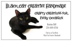 Black Cat Creative Handmade of profits to Mixed up Mutts Rescue! Fundraisers, Crafty, Creative, Handmade, Black, Hand Made, Black People, Handarbeit
