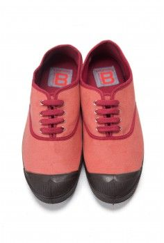 Bensimon Vintage velours rose