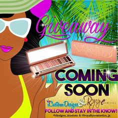 #iCustomDesigns #RoyaltyCosmetics Stay tuned! Dont miss your chance to win your very own exclusive ❗Urban Decay Naked 3 Palette ❗  Follow & Repost !! @royaltycosmetics_ja  @designs_icustom for updates !
