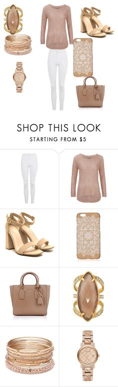 """""""Untitled #24"""" by eldrianmcdonnell ❤ liked on Polyvore featuring Topshop, Vero Moda, Michael Kors, Henri Bendel, Red Camel and Burberry"""
