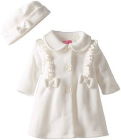 Good Lad Baby-Girls Infant Fleece Coat with Bows and Ruffle, Ivory, 12 Months Good Lad,http://www.amazon.com/dp/B00DQ1UTMO/ref=cm_sw_r_pi_dp_JHwhtb0MK0WY99PF