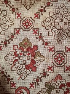 Hand Embroidery Design Patterns, Cross Stitch Patterns, Cross Stitches, Blackwork, Needlepoint, Bohemian Rug, Pattern Design, Rugs, Fabric