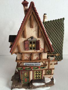 Dept 56 Dickens Village Melancholy Tavern In Original Box and Styro  Mint