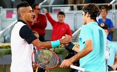Nick Kyrgios Shocks Roger Federer in Madrid, Secures French Open Seeding - http://www.tsmplug.com/tennis/nick-kyrgios-shocks-roger-federer-in-madrid-secures-french-open-seeding/